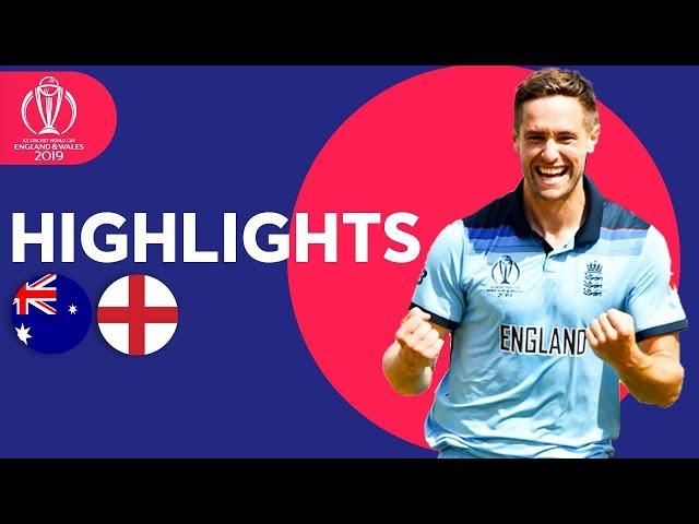 Woakes & Roy Send England To Final! | Australia vs England - Highlights | ICC Cricket World Cup 2019
