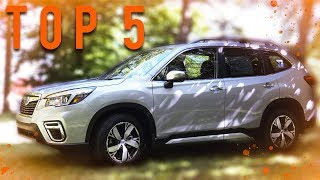 2019 Subaru Forester - Top 5 New Features! (What's New)
