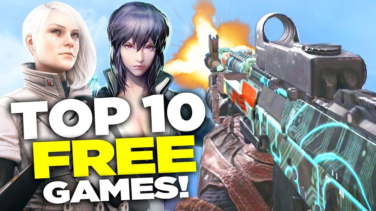 Top 10 Free Fps Games 2017 2018 New Youtube