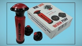 Hot Hut Stuff Wine Saver Vacuum Pump