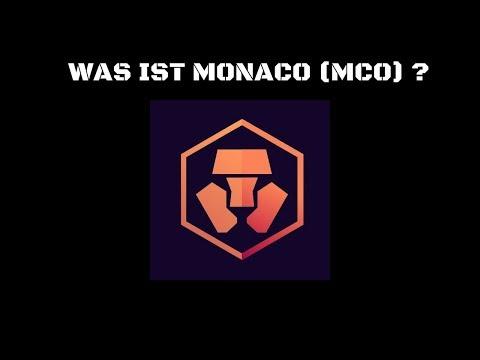 WAS IST MONACO ? ERC 20 TOKEN - MCO-CARD von VISA mit Bitcoin und Ether bezahlen  DEUTSCH