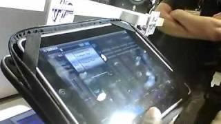 WNAMM 2011 Yamaha Motif XF iPad Editor