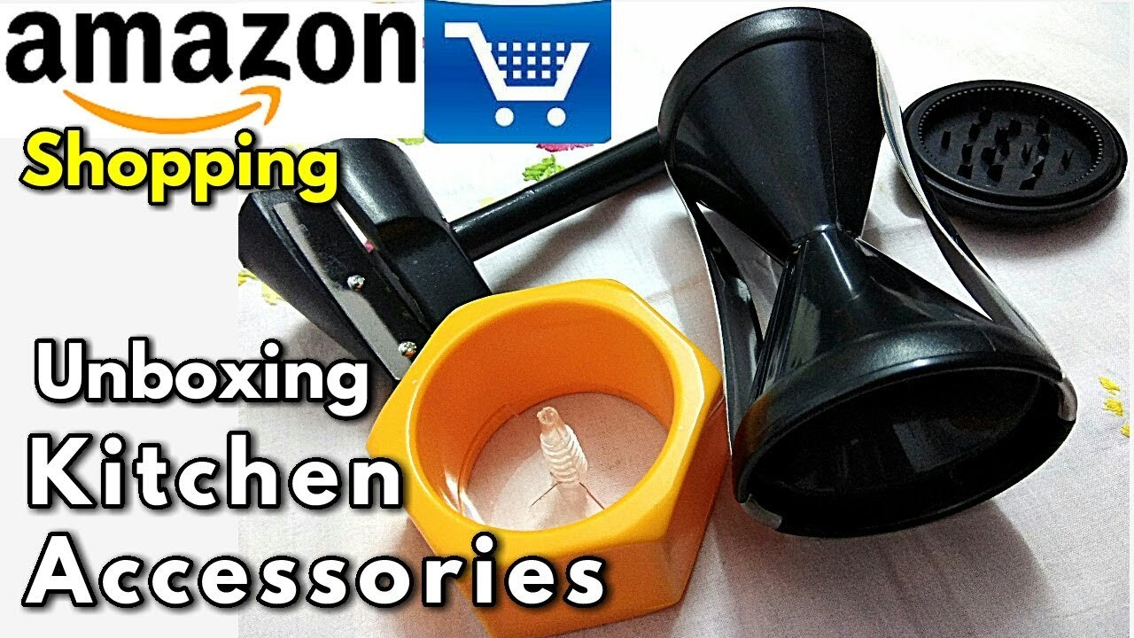 Amazon Shopping Online For Kitchen Unboxing Kitchen Accessories