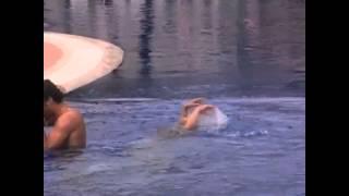 Çilek kokusu havuz sahnesi (KAMERA ARKASI)