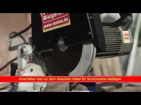 Video Kurzfilm Kapp  und Gehrungssäge