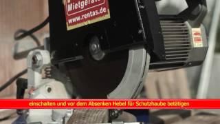 Kurzfilm Kapp  und Gehrungssäge