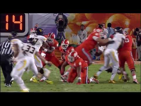 2011 Orange Bowl - #23 West Virginia Vs. #14 Clemson (HD)