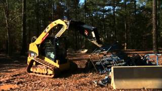 Cat® Shear Work Tool Attachment at Work