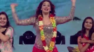 lakshmi rai s spell bound performance mirchi music awards