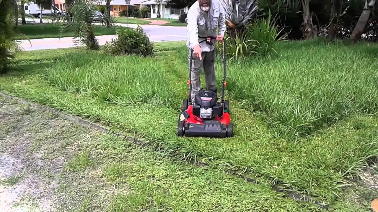 Troy Bilt Self Propelled Lawn Mower Does The Job Doovi