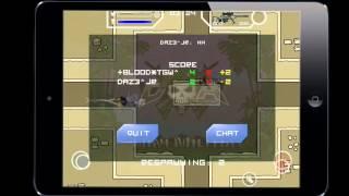 Doodle Army 2 -  1vs1 Pro Gameplay Season #Blood vs Fuze Jr (Mini Militia)