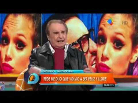 Federico Bal hizo llorar a Santiago Bal con una frase