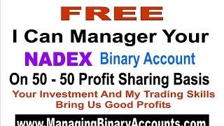 Nadex Binary Options Trading - Managing Nadex Binary Accounts