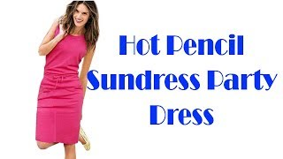 Hot Pencil Sundress Ladies Summer Beach Casual Party Dress Review
