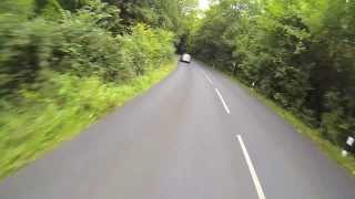 Giant vibrator - Stolen back wheel - Triumph Motorcycles - Wet Knob and some singing
