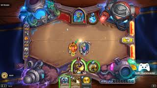 Hearthstone - Lethal Boomsday Puzzle - Lil' Stormy Puzzle 1 Of 7 - Light And Fire