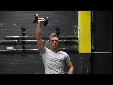 Single Arm Seated Dumbbell Shoulder Press