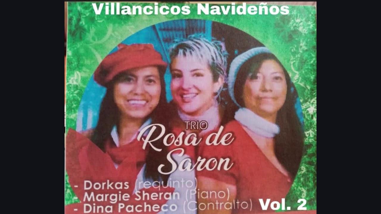 Villancicos navideños.  Trío Rosa de Sarón.  (Dorkas de Monterroso, Dina Pacheco y Margie Sheran)