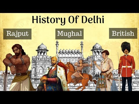 History of Delhi in 12 Minutes | Delhi Sultanate | Mughals | British | दिल्ली का इतिहास |Eclectic