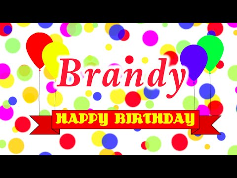 Happy Birthday Brandy Song