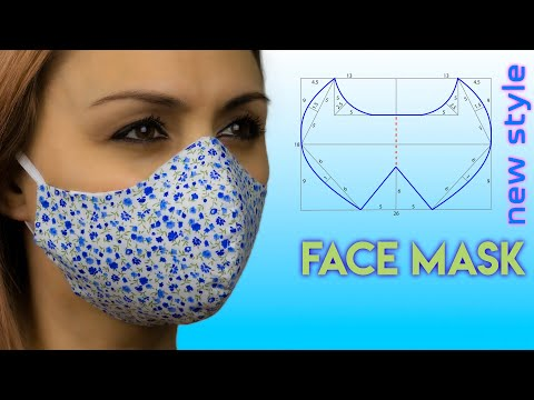 😷how-to-make-a-face-mask-😷-face-mask-sewing-tutorial-|-face-mask-pattern