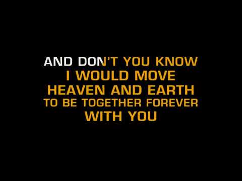 TOGETHER FOREVER RICK ASTLEY KARAOKE HD 2017