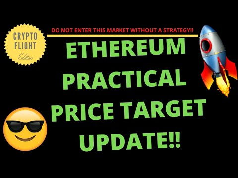ETHEREUM PRACTICAL PRICE TARGET UPDATE!! |PRICE PREDICTION | TECHNICAL ANALYSIS$ ETHUSD