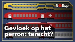 Hoe slecht heeft de Nederlandse treinreiziger 't eigenlijk? | NOS op 3