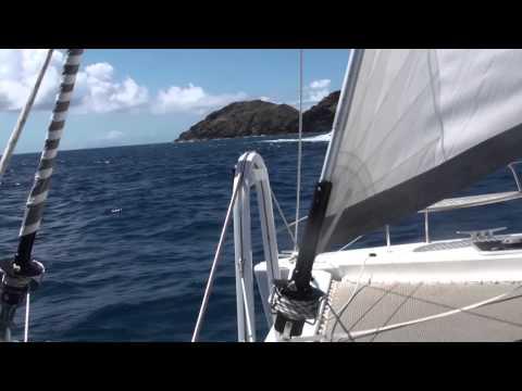Sailing ST Martin - Anguilla - St Barts 2013
