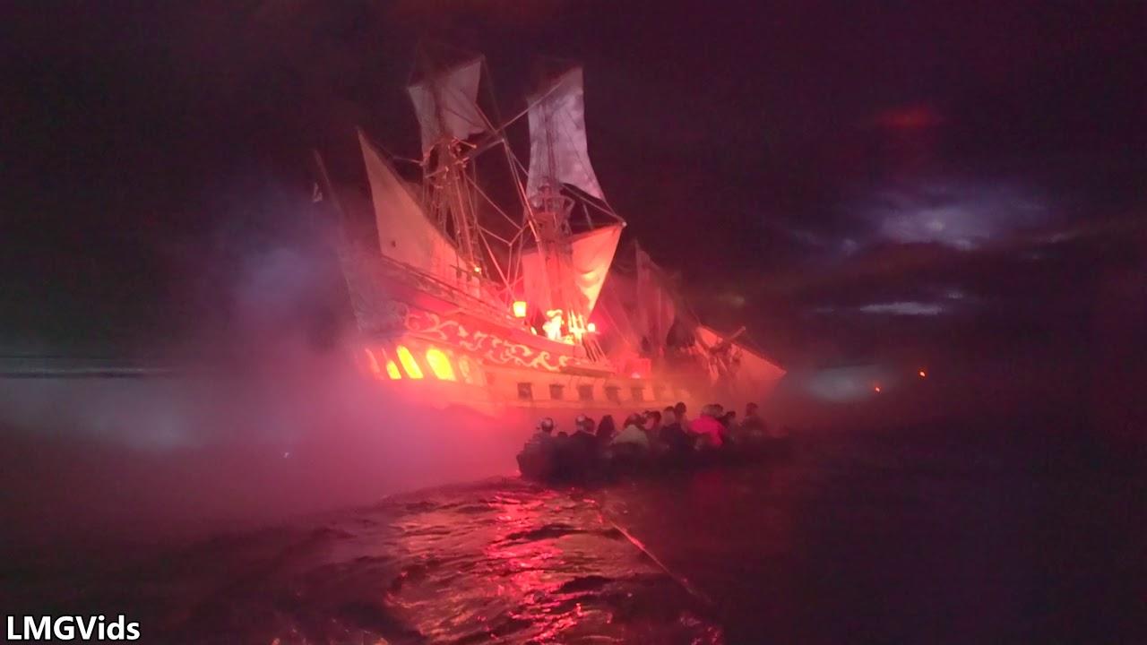 4k Pirates Of The Caribbean Ride 2019 Wdw Magic Kingdom Pov Low Light Complete Youtube