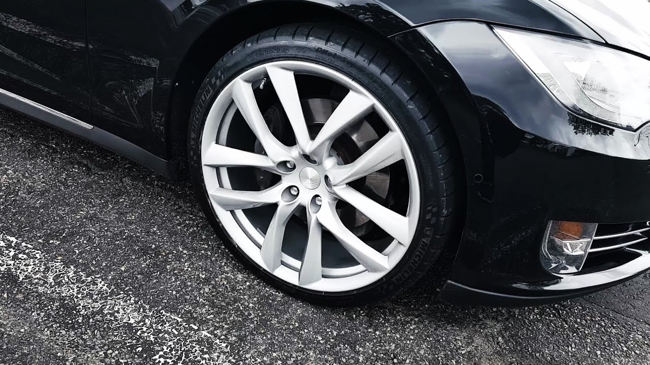 Tesla 21 inch wheels for sale