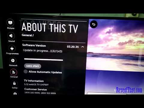 How To Update LG SmartTV To WebOS Version 04.30.02