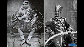 Усатый гарем иранского шаха.