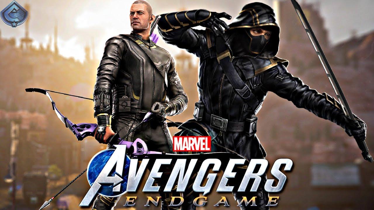 Marvel's Avengers Game - MCU Hawkeye Movie Suit Free Roam Gameplay!