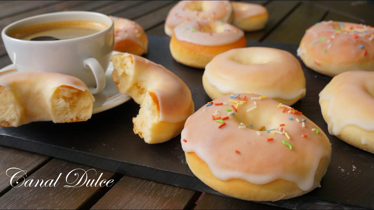 Donuts O Donas Al Horno Mucho Mas Ligeras Receta Fácil