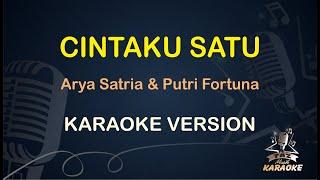 Cintaku Satu Karaoke Arya Satria ( Karaoke Dangdut Koplo ) Duet