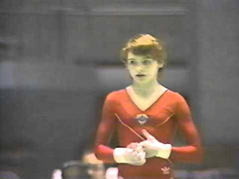 1986 World Sports Fair Gymnastics Women's EF
