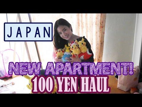 NEW APARTMENT! | 100 YEN DAISO HAUL | KimDao in JAPAN