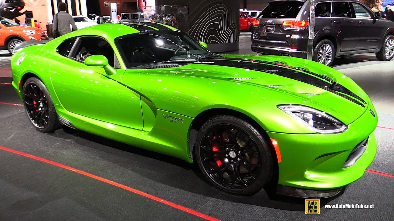 2017 Dodge Viper GT   Exterior And Interior Walkaround   2017 Detroit Auto  Show