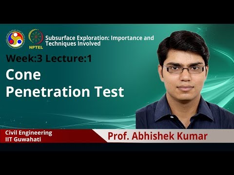 Lecture 6: Cone Penetration Test