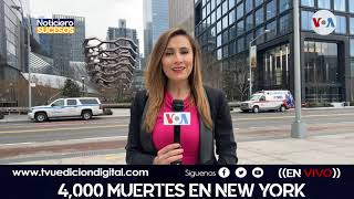 4,000 muertes en New York