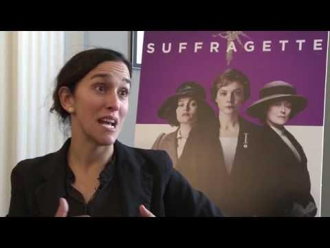 Suffragette director Sarah Gavron