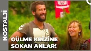 Kamera Arkasında Yaşanan Komik Anlar  Survivor Türkiye