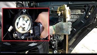 Установка новых электростеклоподъёмников на ваз 2110-11-12