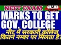 Cutoff NEET 2019 To Get Government And Private Medical Colleges | Expected Cut-off For NEET 2019 |