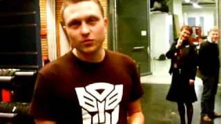 Basshunter - BassHunter meets his over man, a real transformer!