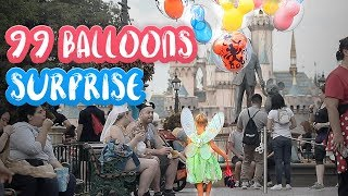 99 BALLOONS SURPRISE AT DISNEYLAND!! /// THE BUCKET LIST FAMILY