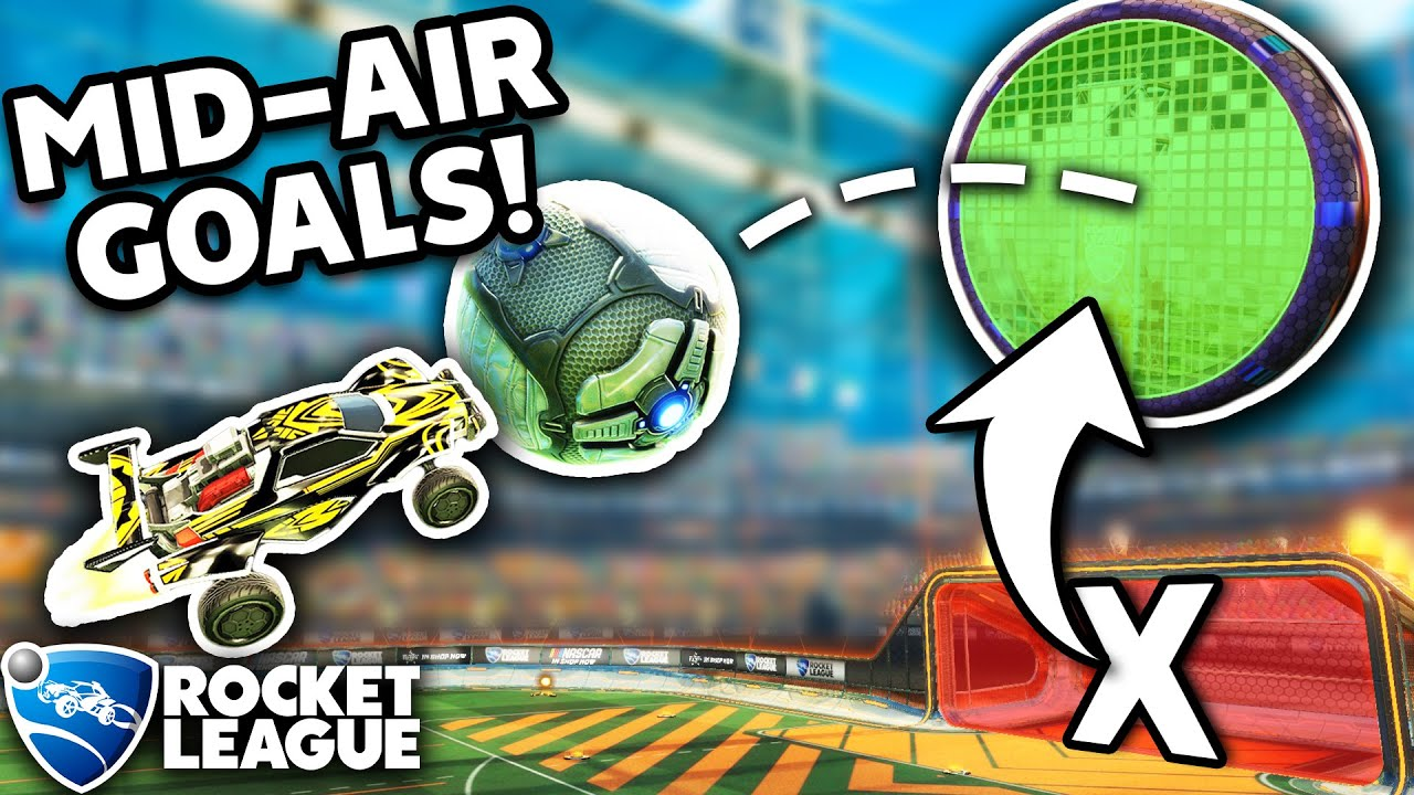 ROCKET LEAGUE, BUT THE GOALS ARE FLOATING MID-AIR