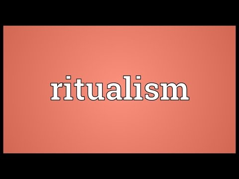 Header of ritualism