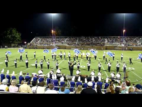 Giles County High School band of Gold 2011.MTS